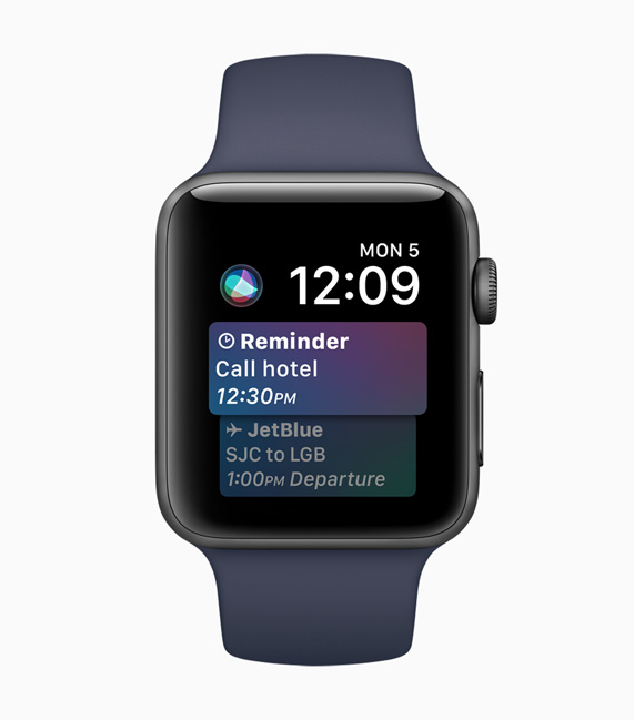 How to use Siri on an Apple Watch