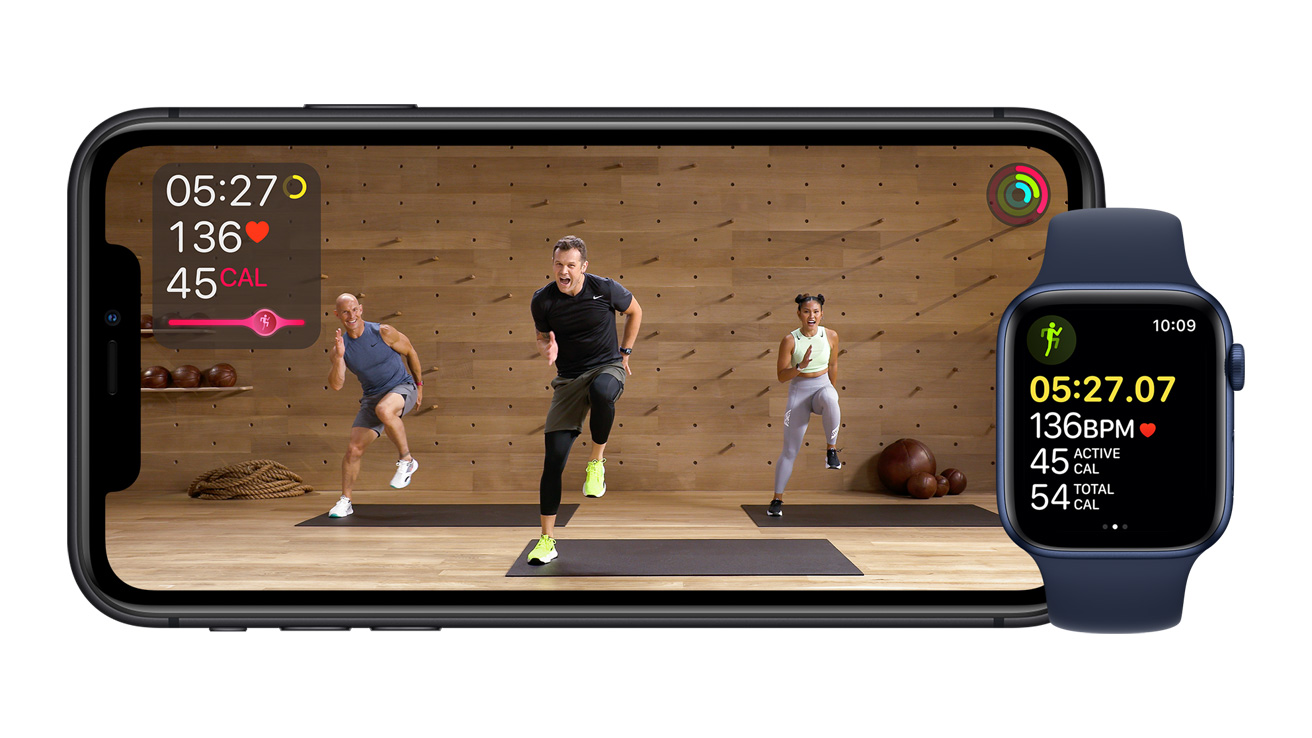 Apple Fitness+: A personalized fitness experience comes to life with Apple  Watch - Apple event 2020 announcements