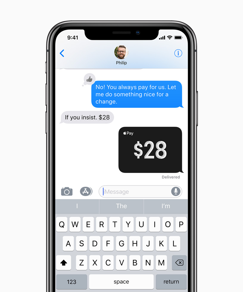 Apple Pay Cash and person to person payments now available - Apple