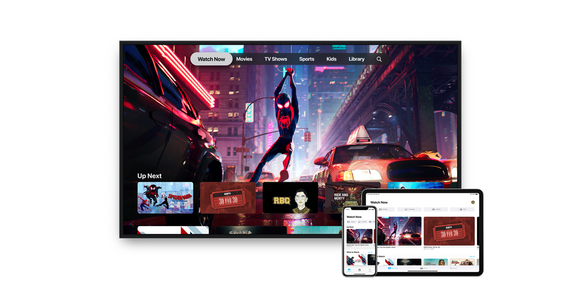 All-new Apple TV app available in over 100 countries starting today – Apple Newsroom