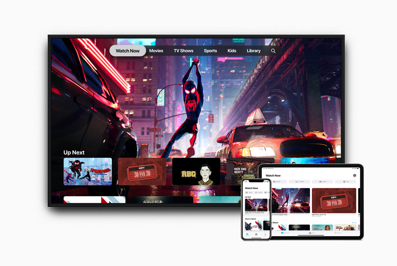 The new Apple TV app available in over 100 countries