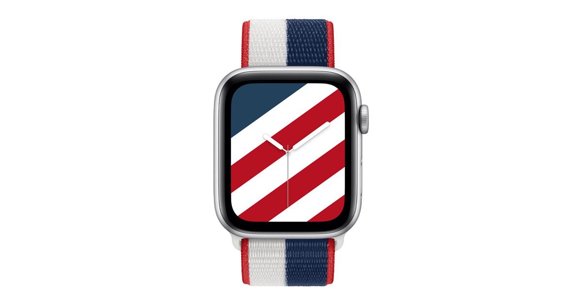 Apple Watch International Collection Armbänder zeigen die Liebe zum Land