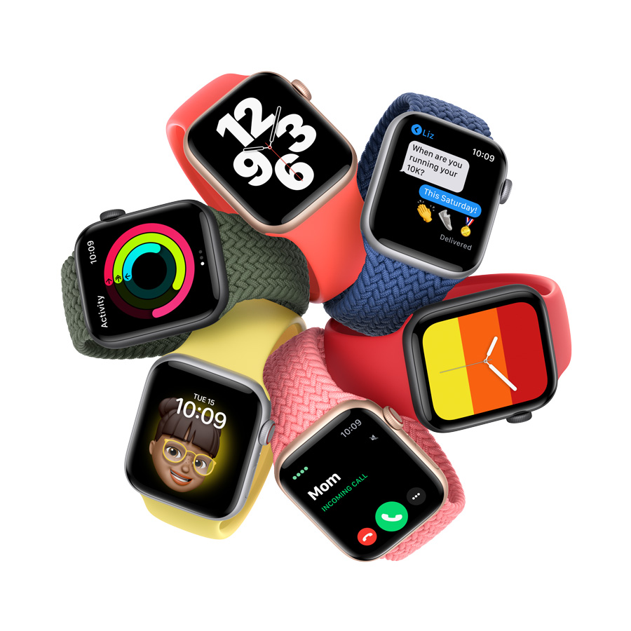 Apple Watch SE: The ultimate combination of design, function, and value -  Apple