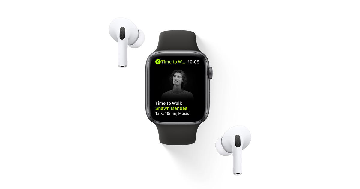 photo of Time to Walk: An inspiring audio walking experience comes to Apple Fitness+ image