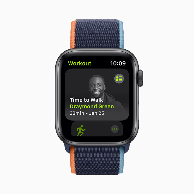 Draymond Green displayed on Apple Watch.