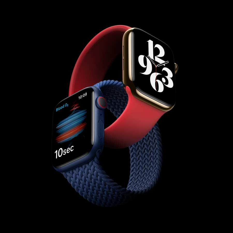 Apple Watch Series 6 Delivers Breakthrough Wellness And Fitness Capabilities Apple Uk