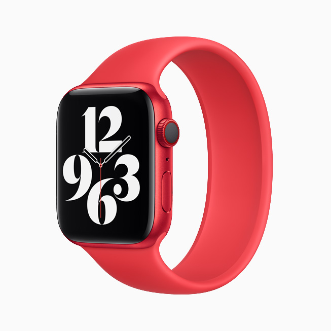 L'Apple Watch Series 6 (PRODUCT)RED.