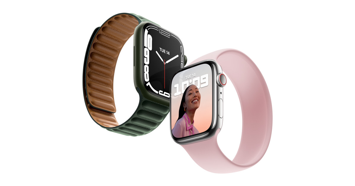 Apple reveals Apple Watch Collection 7, that includes the most important, most superior show