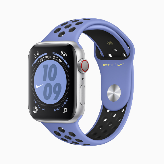 The new Nike Sport Band on Apple Watch Nike.