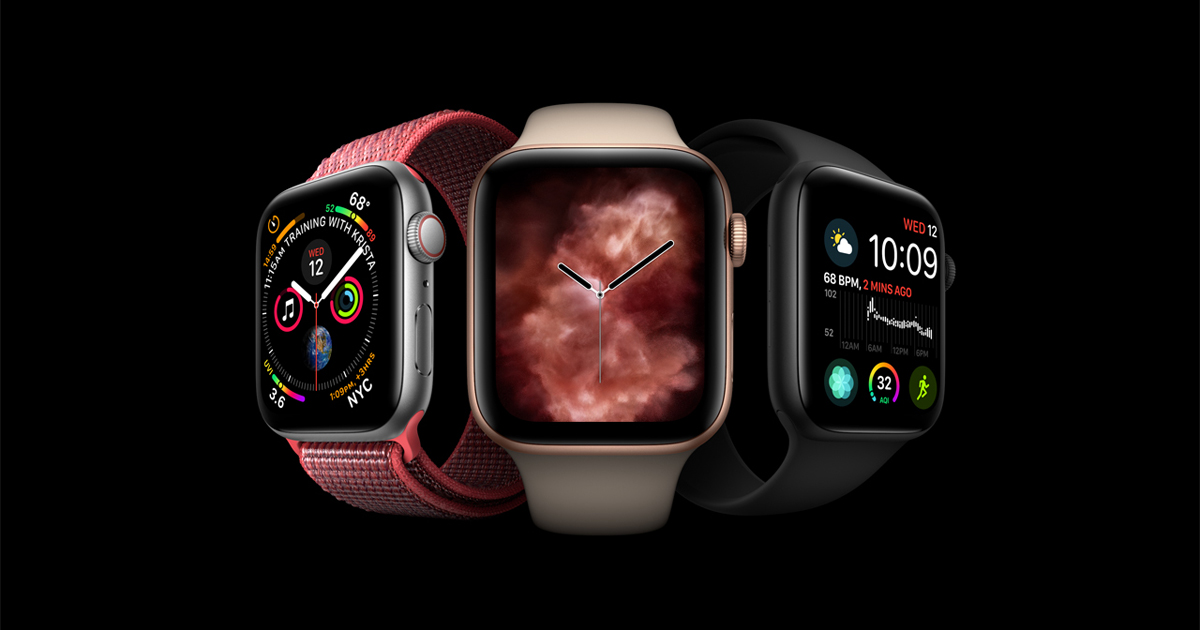 Redesigned Apple Watch Series 4 revolutionizes communication, fitness and health