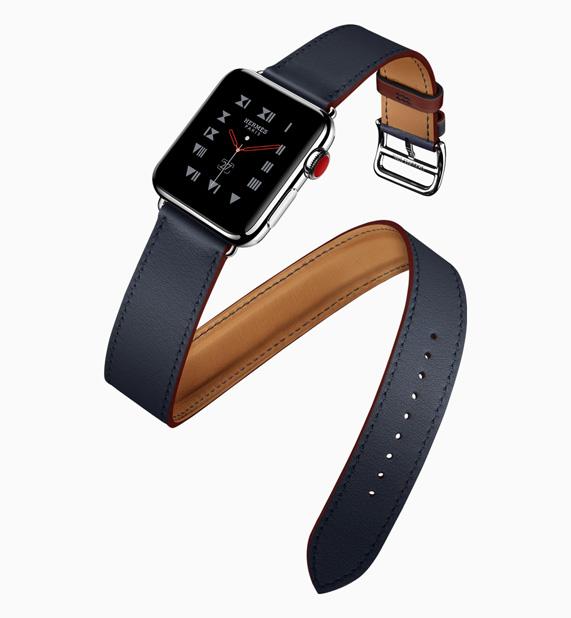 1b7d63d58aa As pulseiras do Apple Watch Hermès para esta estação destacam uma nova cor.