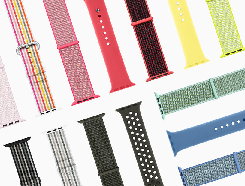 b1ff2b478979 New Apple Watch bands feature spring colors and styles - Apple