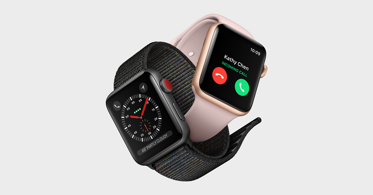 Apple Watch Series 3 features built-in cellular and more