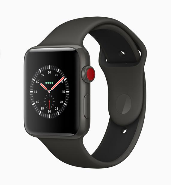 d1130d247fb Apple Watch Edition em um novo acabamento em cerâmica cinza de tirar o  fôlego.