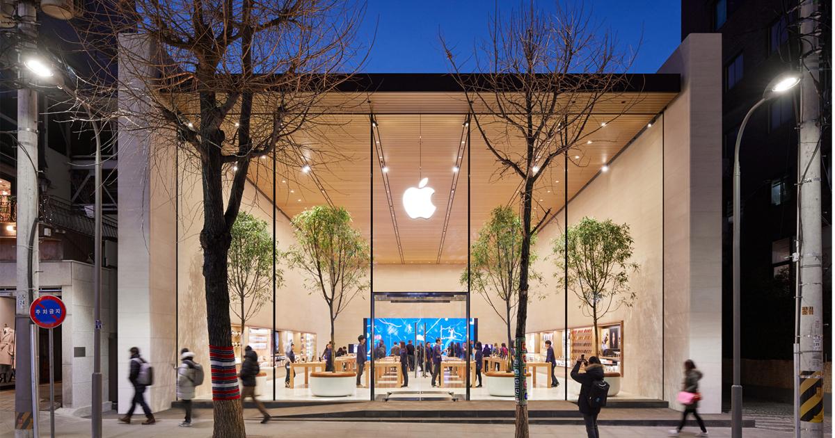 apple inaugure ce samedi son premier magasin en cor e du sud apple fr. Black Bedroom Furniture Sets. Home Design Ideas