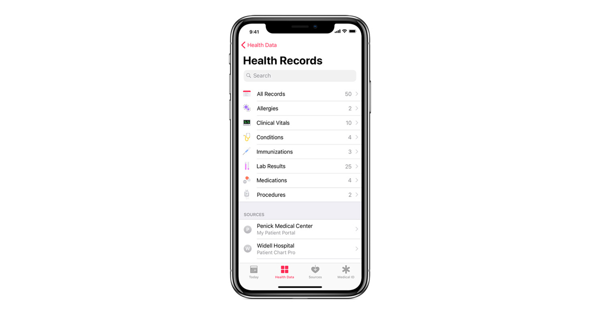 Apple announces solution bringing health records to iPhone