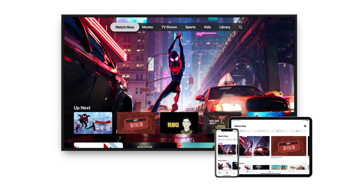 All-new AppleTV app available in over 100 countries starting today