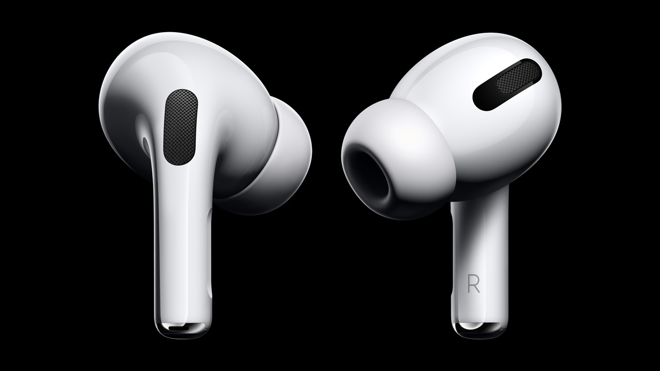 Apple Reveals New Airpods Pro Available October 30 Apple Pl