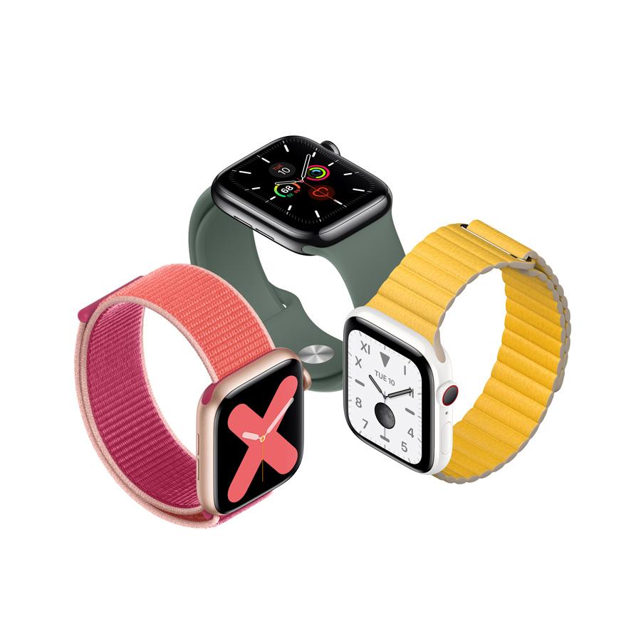 Apple تكشف النقاب عن Apple Watch Series 5 Apple Ae