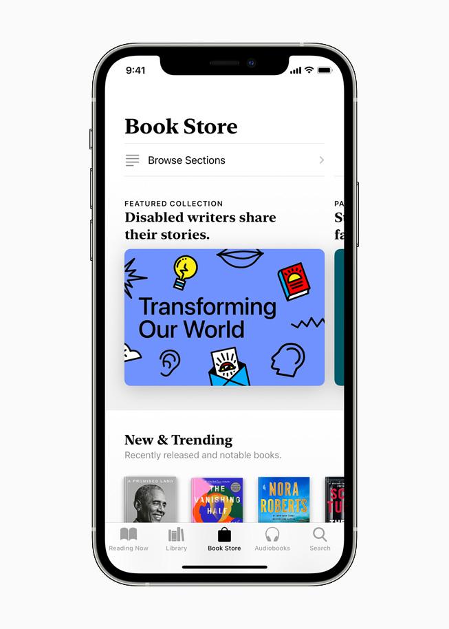 Collection présentée dans AppleBooks sur un iPhone12Pro.