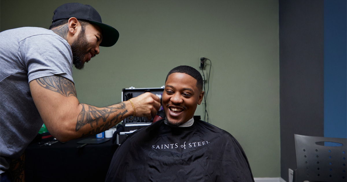 photo of At-risk youth get a fresh look and a fresh start image