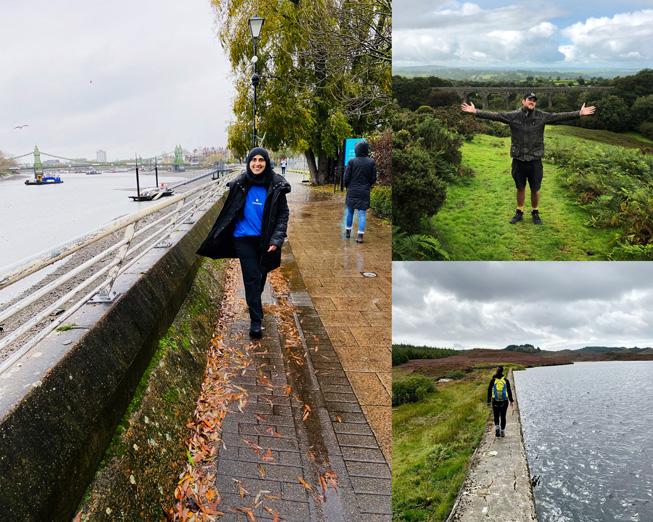 Apple team members volunteering in the UK.