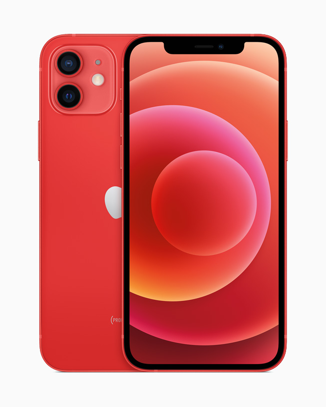iPhone 12 (PRODUCT) RED.