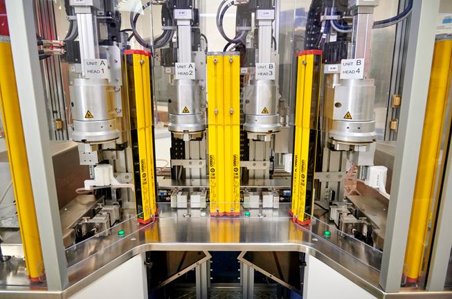 A COPAN Diagnostics manufacturing facility.
