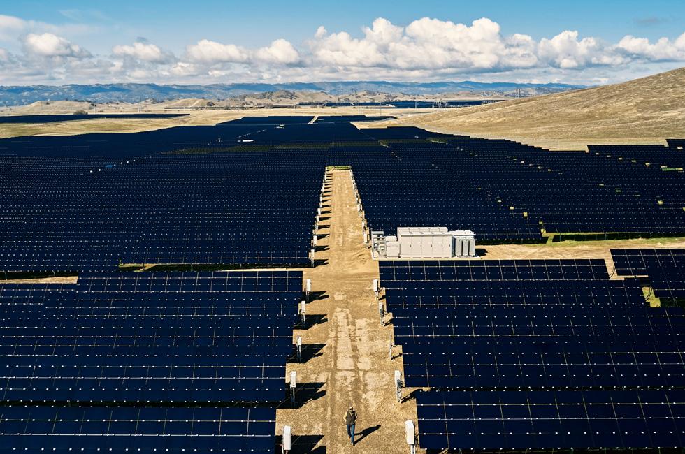 An Apple solar farm.