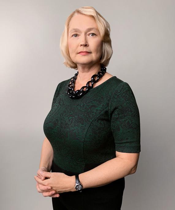 A portrait of Elena Krasnoperova