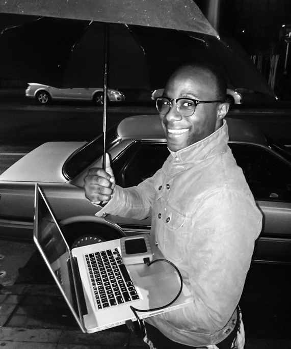 Barry Jenkins in Apple's Behind the Mac ad.