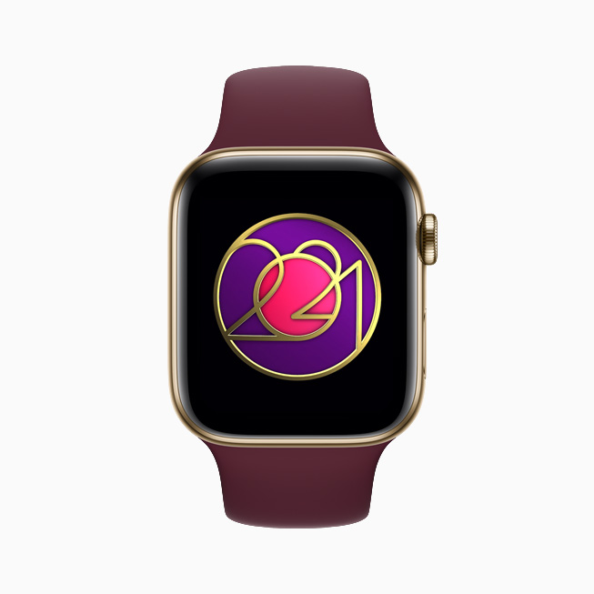 International Women's Day Activity Challenge, displayed on Apple Watch Series 6.