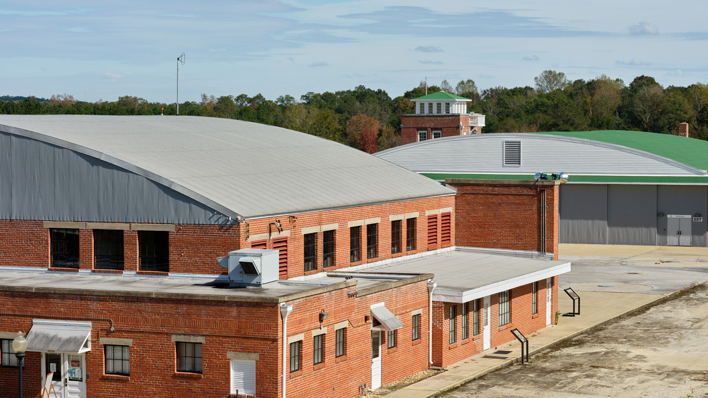 Buildings of the Tuskegee Airmen National Historic Site.