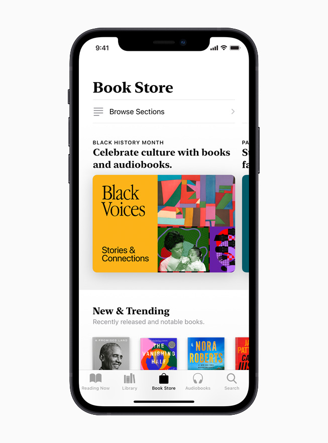 Apple Books is displayed on iPhone 12.