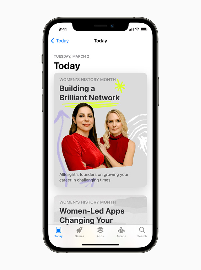 The App Store, displayed on iPhone 12.