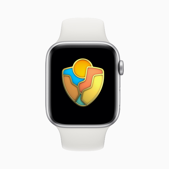 National Park award for Apple Watch.