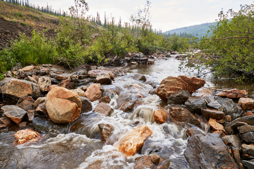 Jack Wade Creek.