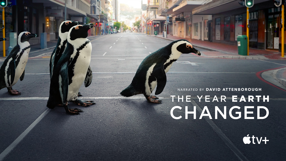 """Title card for the documentary """"The Year Earth Changed."""""""
