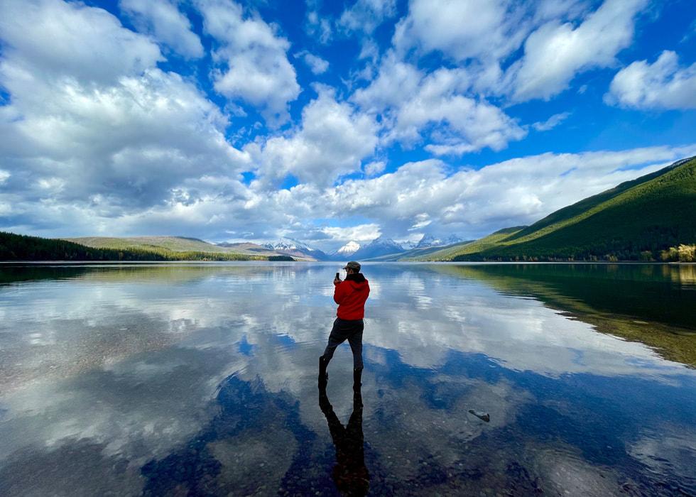 Glacier National Park, shot on iPhone 12 Pro.