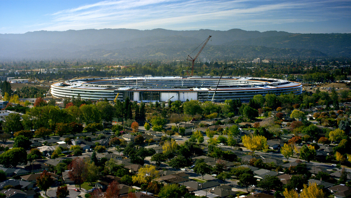 cupertino apple office. apple park opens to employees in april cupertino office