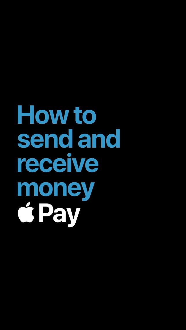 Apple Pay Person to Person Payments
