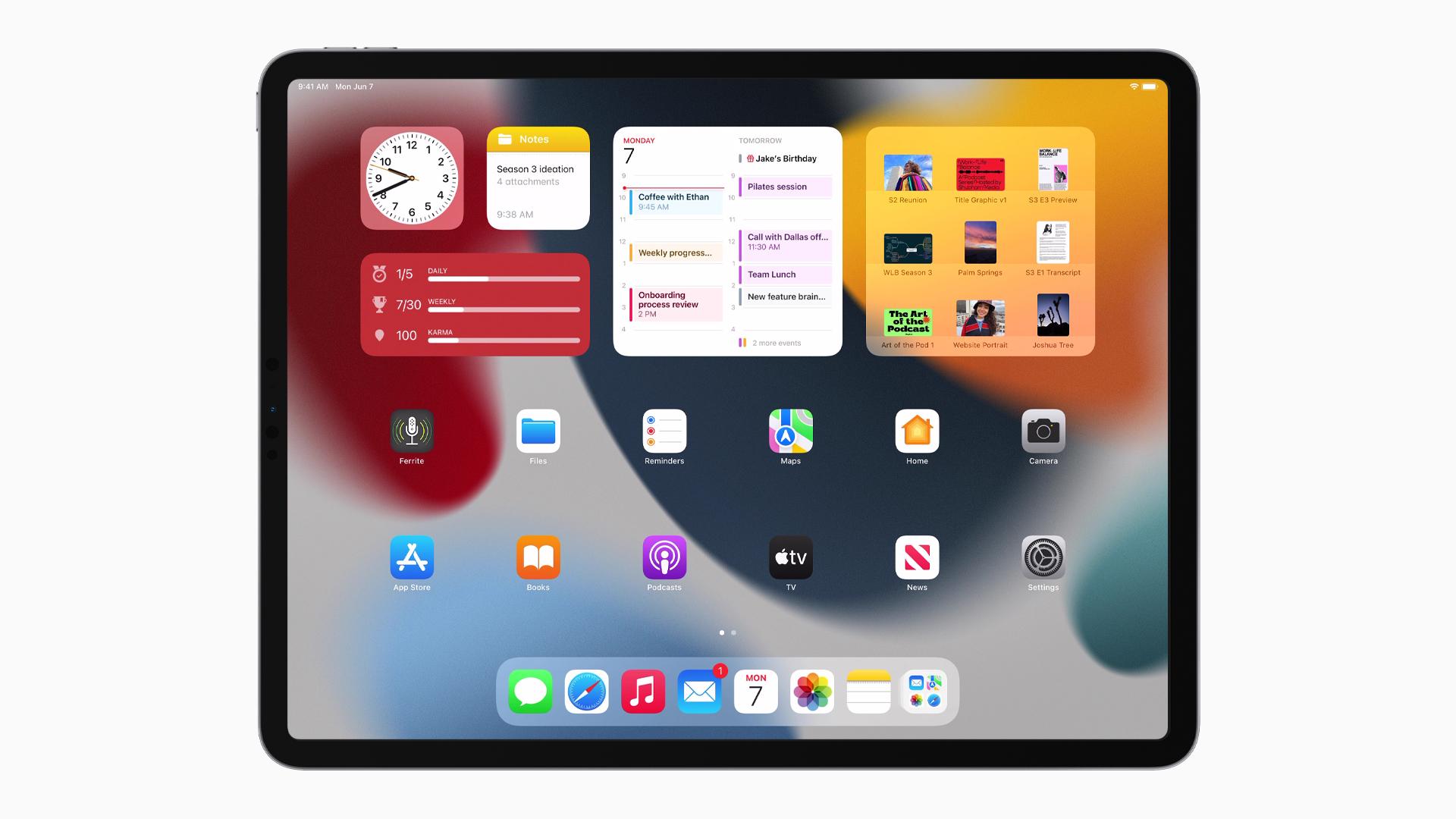 Apple zeigt mit iPadOS 9 eine Vorschau auf neue ...