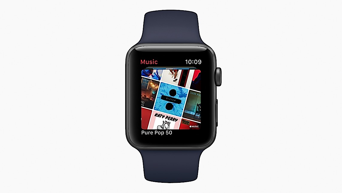 watchOS4 Music 571x238.jpg.large - watchOS 4 bringt mehr Intelligenz und Fitnessfunktionen auf Apple Watch