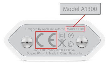 How To Identify Iphone Model >> Apple 5W European USB Power Adapter Exchange Program - Apple Support