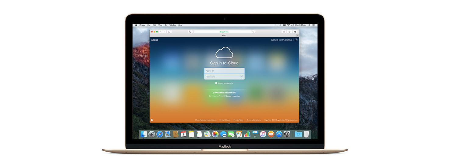 how to get photos up on icloud