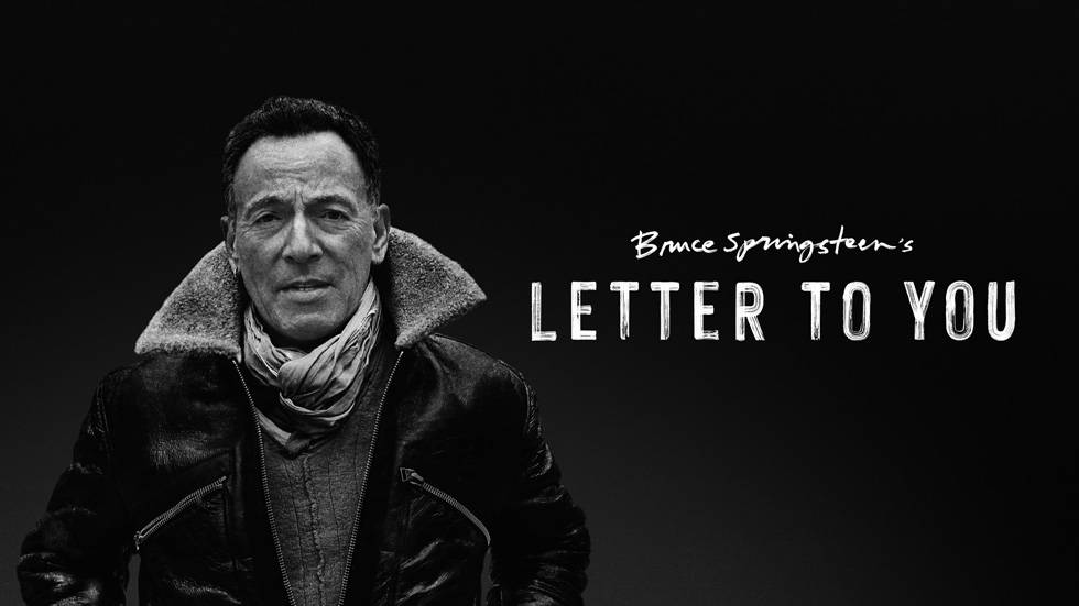 """Bruce Springsteen's Letter to You"" key art"
