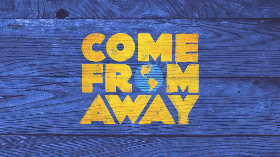 """Apple Original Films announces filmed production for the musical """"Come From  Away"""" - Apple TV+ Press"""