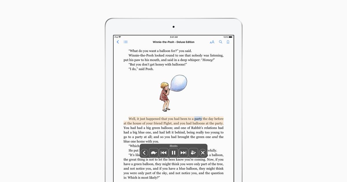 Vision Accessibility Ipad Apple