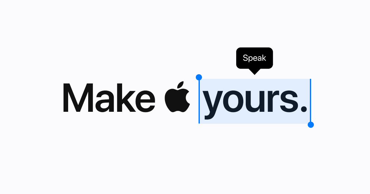 Apple - Accessibility