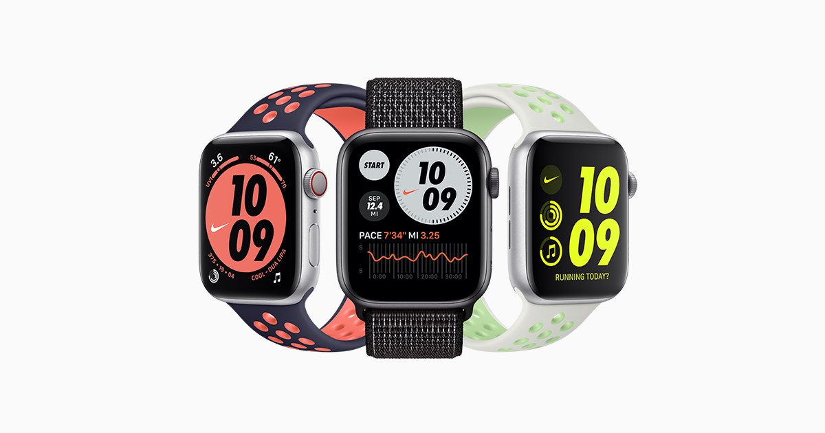 El aparato personaje su  Apple Watch Nike - Apple
